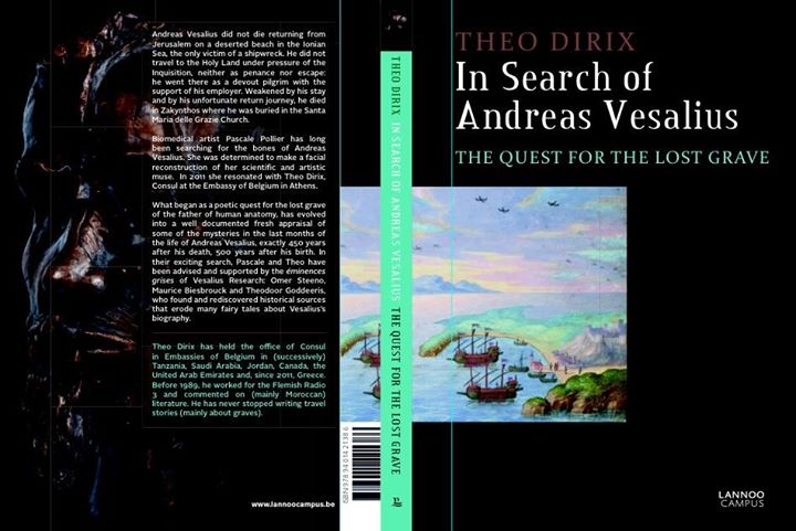 """""""The Quest for the Lost Grave"""" the new book of Theo Dirix for Andreas Vesalius"""