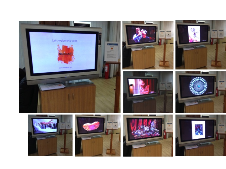 "MEDinART in ""Researchers Night"", NCSR ""Demokritos"", 26 September 2014, Athens-Greece"