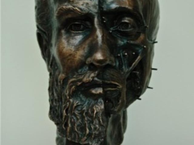 Purchase Andreas Vesalius bronze bust portrait to donate to Saint Louis University